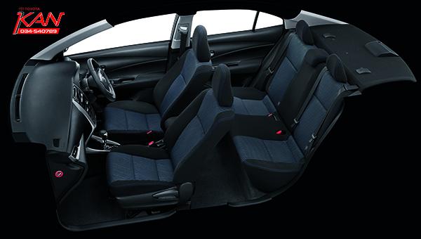 G-Grade-Black-Interior-copy รีวิว Yaris ATIV Eco Car น้องใหม่ Option จัดเต็ม