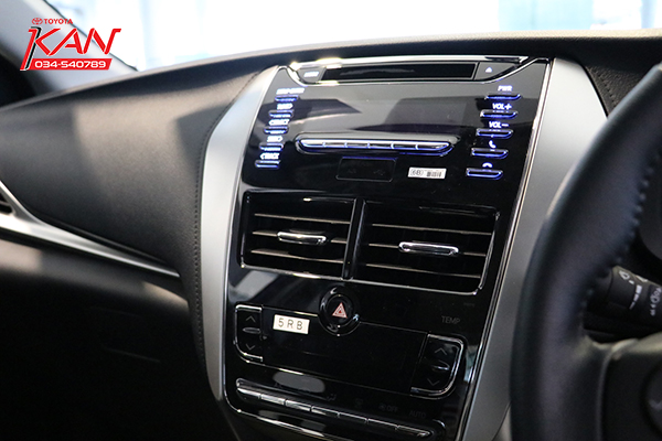 IMG_7337-copy รีวิว Yaris ATIV Eco Car น้องใหม่ Option จัดเต็ม