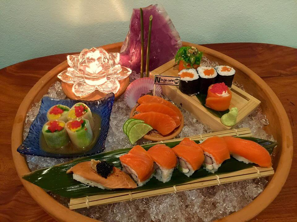 I love Salmon Set