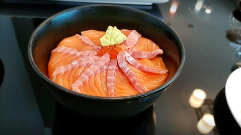 "Salmon-Don เอาใจ คนรัก อาหารญี่ปุ่น ที่ ""NINJA CAFE'"""