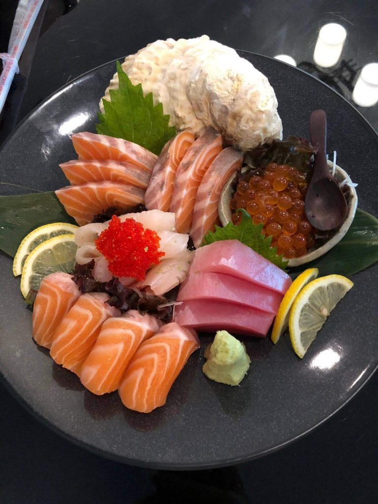 "Sashimi-768x1024 เอาใจ คนรัก อาหารญี่ปุ่น ที่ ""NINJA CAFE'"""