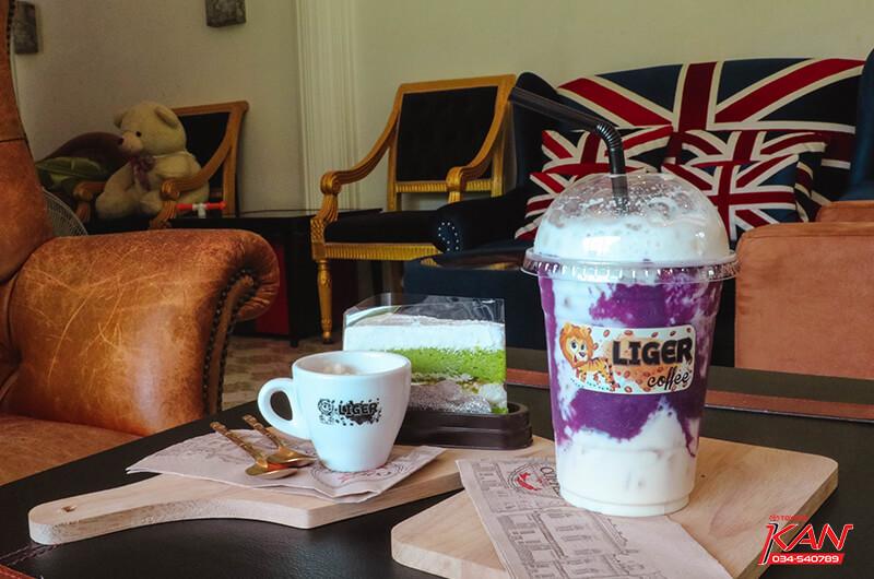 12 Liger coffee คาเฟ่กลางป่ากับบาริสต้าอารมณ์ดี